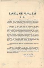 Lambda Chi Alpha Day