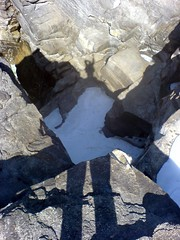 Shadow (r h) Tags: falls rockymountains athabasca