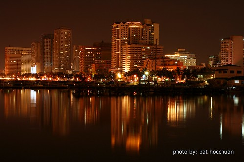 Baywalk Strip Night View