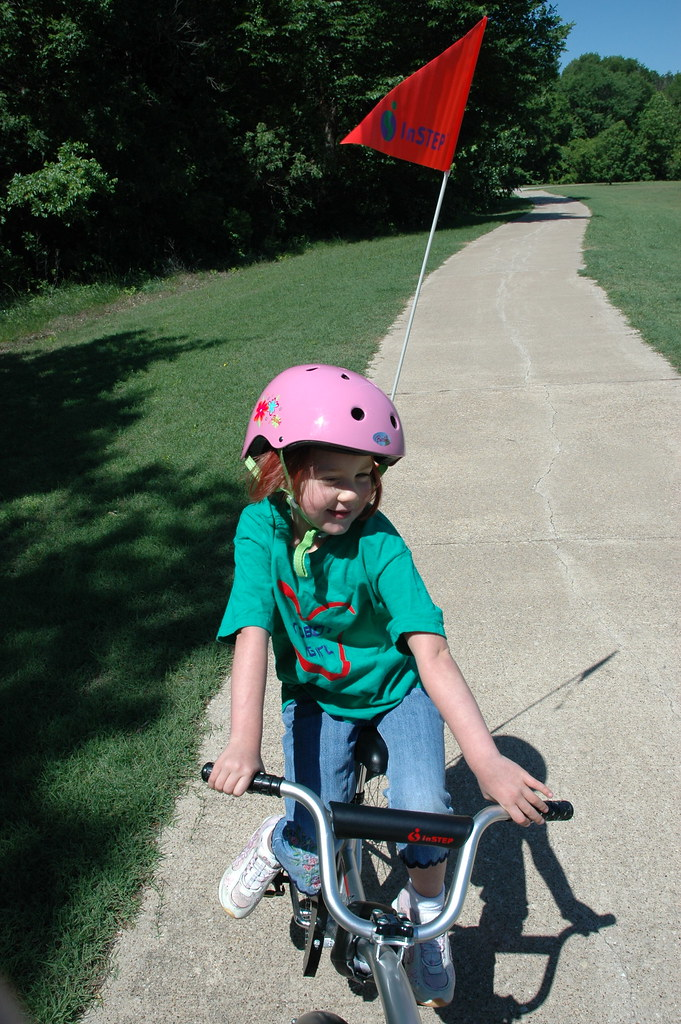 Schuyler and the tandem bike