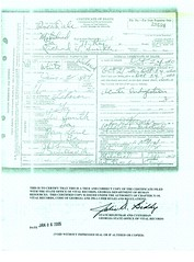 Richard T. Smith Death Cert