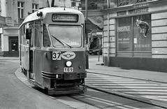 (Kacper (tow.zwierz)) Tags: film nikon tram poland polska ilford tramwaj silesia lsk chorzow f75 chorzw schlesien pan400 nikonstunninggallery konstaln
