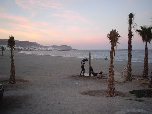 Playa en Carboneras