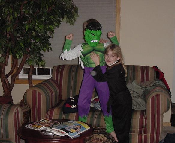 Wheezie and the Hulk