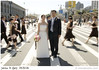 Out of place (SFMONA) Tags: sanfrancisco street wedding party blur lines fashion wow groom bride cool outoffocus bridesmaids editorial concept ideal bridal conceptual crosswalk groomsmen top20wedding