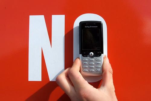 Telefonams NE!