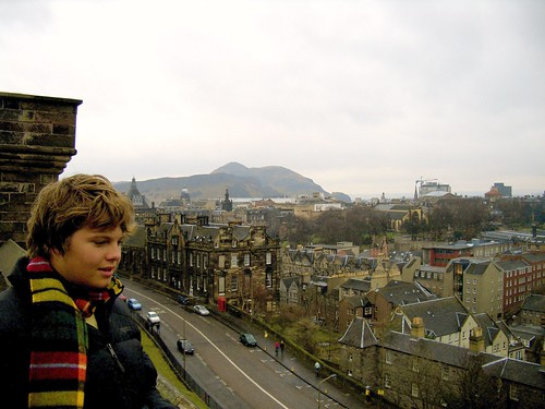 Holden Gazes at Hazy Edinburgh