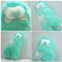 - Fuzz Practice - (Warm 'n Fuzzy) Tags: cute monster toy plush kawaii warmnfuzzy warmnfuzzynet
