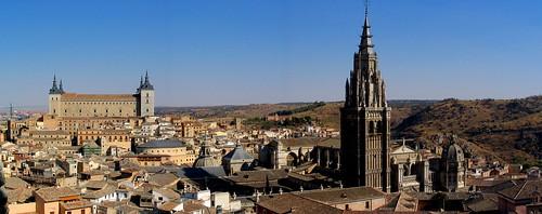 Panorámica Alcázar y Catedral