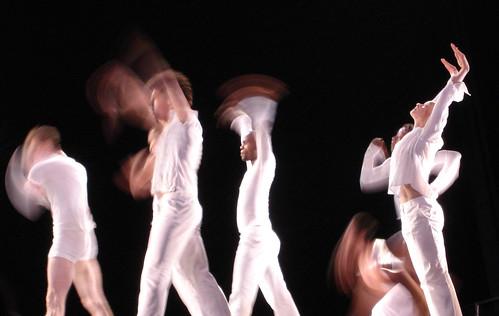 Dancers of the Bill T. Jones/Arnie Zane Co.