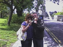 Me and Paul ice-cream up!