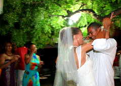 1st dance (antiguan) Tags: longexposure wedding party girl dinner groom bride dance eli dancing wine wed antigua caribbean celebrate firstdance caribbeanwedding elifuller harmonyhall