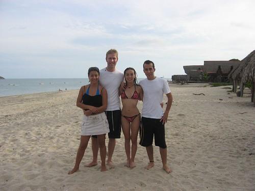 Fred, Maggy, Olga, and I in Santa Clara