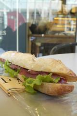Baguette Sandwich, Paul, Roppongi