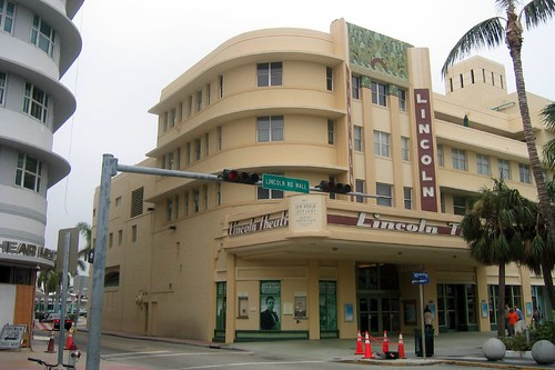 Lincoln Road Theater on the Lincoln Road Mall