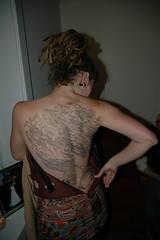 megs tattoo 1 (BIGAWK) Tags: tree art tattoo ink meg megan dawgs inked