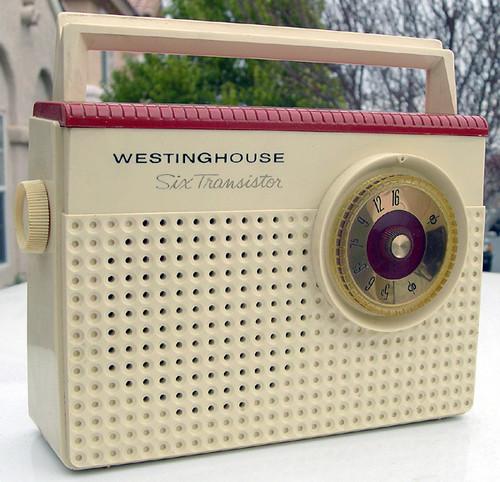 Westinghouse Six Transistor Radio, 1960's