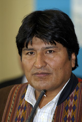 Evo Morales presidente de Bolivia