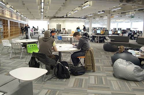 Study Areas, Glasgow Caledonian Universi by jisc_infonet, on Flickr