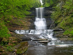 Hidden Wonder II (Matt Champlin) Tags: nature landscape waterfall hiking scenic olympus upstatenewyork environment gorge olympuse300 waterblur newhope interestingness148 i500