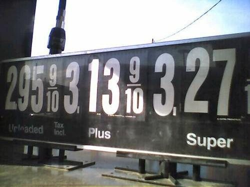 average gas prices