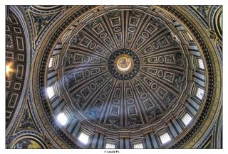 Saint Pierre de Rome - Ceiling