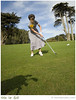 Golf (SFMONA) Tags: girls sports fashion golf women dress action retro concept ideal conceptual ilovelucy womenissues titleix
