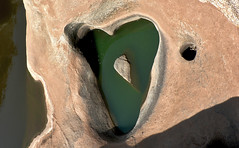 Heart-Shaped Hole (premasagar) Tags: india rock hole heart erosion karnataka hdr hampi 3xp ecodaya utatapaints werkswall