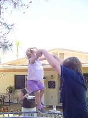 DSC00243 (JoshSchulz) Tags: luke 2006 kyra bouncing