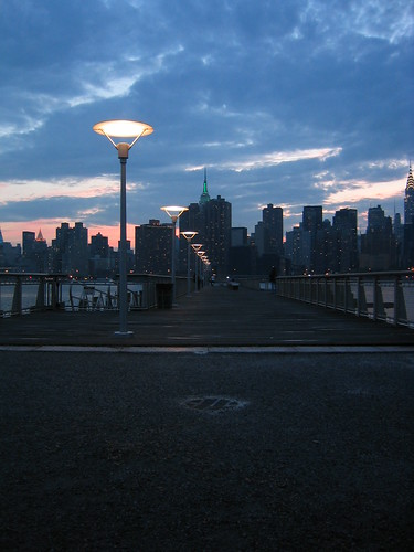 Pier-Manhattan by allistair