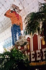 Las Vegas: Fremont Street - Neon Cowboy (wallyg) Tags: vegas cowboy neon lasvegas nevada neonsign fremontstreet pioneer fse downtownvegas fremontstreetexperience fremontst vegasvic glittergulch clarkcounty