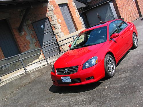 2005 Nissan Altima SE-R 2005 Nissan