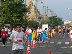 Road race at Grand Palace