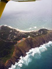 Joy Flight over Byron Bay (sagewah) Tags: light house falls nsw byron byronbay capebyron brokenhead minyon