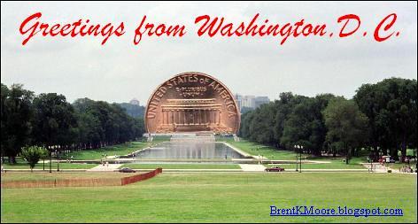 The Lincoln Memorial Postcard