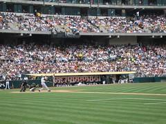 714! (cariberry) Tags: oakland athletics baseball coliseum giants barrybonds homerun 714