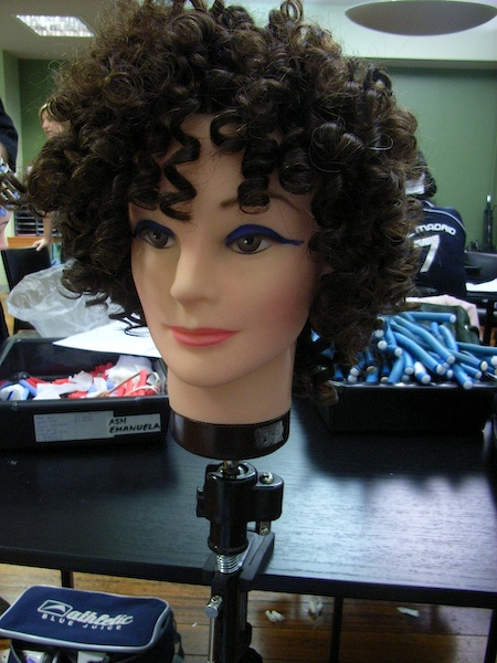 Modern Spiral Perm Hairstyle for Women in 2010