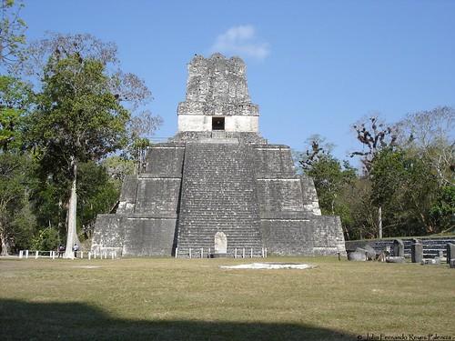 Tikal, a Mayan city in Guatemala