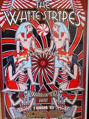 White Stripes (scottboms) Tags: music rock office band screenprinting posters prints concerts whitestripes