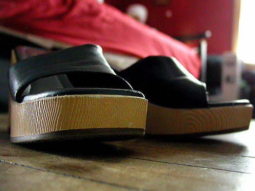 open toed