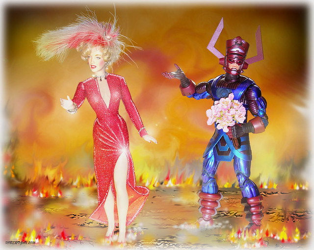 TOYS- GALACTUS-THE WORLD DEVOURER: GALACTUS LACKS GALS by zero g