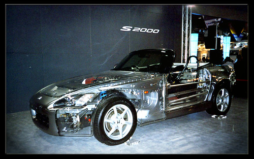 """Transparent"" Honda S2000 (Taipei International Motor Show),car, sport car"
