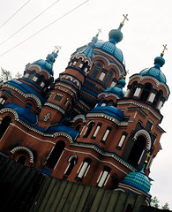 Church in Irkutsk