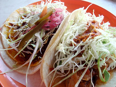 Tacos @ La Esquina (yusheng) Tags: 510fav tacos mexicanfood foodporn interestingness470 i500
