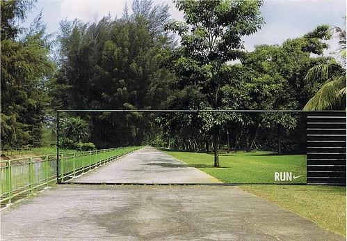 Nike Transparent Billboard