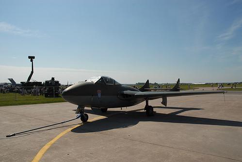 Warbird picture - De Havilland Vampire J28C
