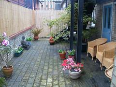 Centre garden