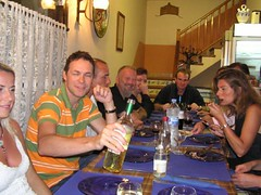 Rowlands birthday 2005 (mr_bruteforce) Tags: bar de torroella montgri murralla