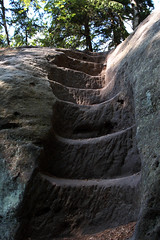 (derbaum) Tags: up juni stairs rocks derbaum 2006 sachsen stufen felsen schsischeschweiz aufwrts