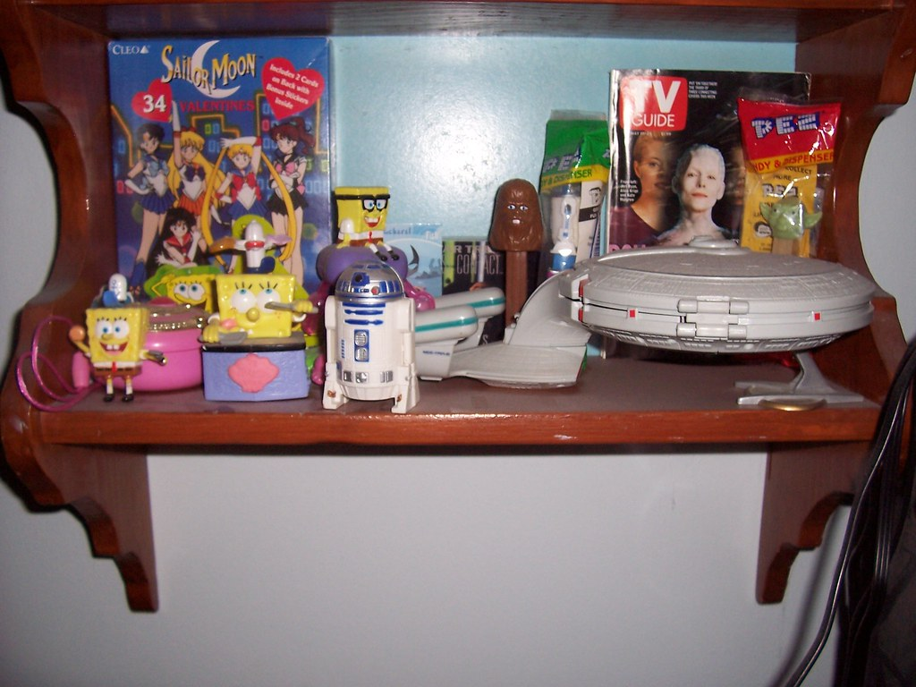Toys on my Shelf - part 3